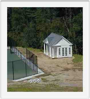 Oregon Rd. Bedford Corners NY Tennis Cabana