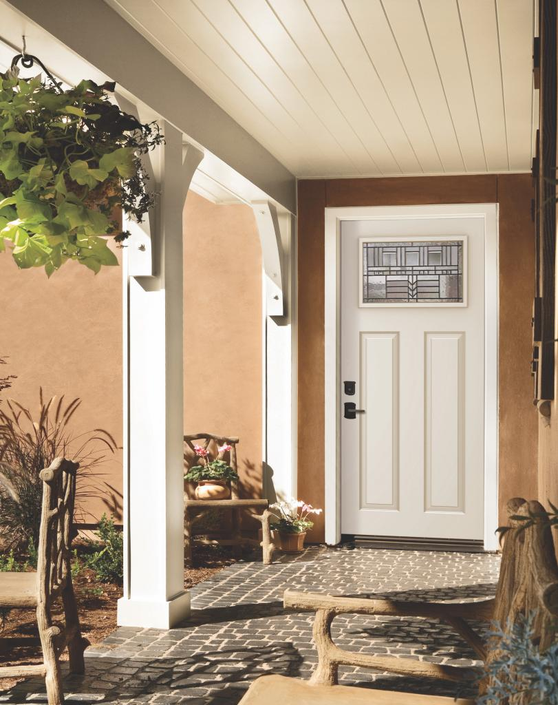 This Year Jeld Wen Has Introduced The Craftsman Collection Of Exterior  Steel Doors Which Provide The Look Of Craftsman Design At A More Affordable  Price ...